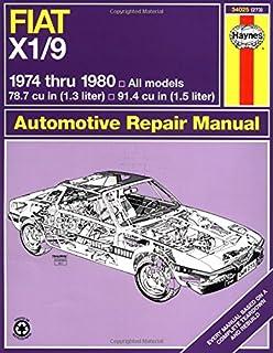 Fiat X1-9, 1974-1980 (Haynes Repair Manual (Paperback))