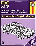 Fiat X1/9, 1974 Thru 1980, B. Gilmour and John Haynes, 0856967173