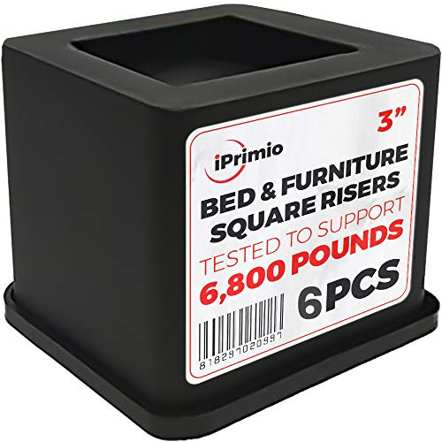 Top 10 Iprimio Bed And Furniture Risers Wood