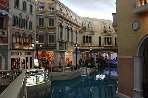 (Home Comforts Canvas Print Macau Venetian Casino Vivid Imagery Stretched Canvas 32 x 24)