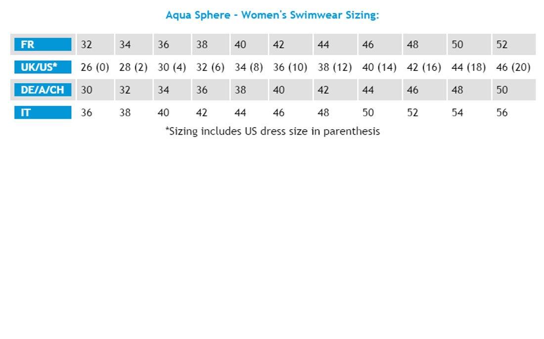 Aqua Sphere Women's Lima Swim Suit - Black/Purple