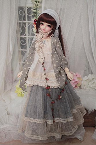 1/3 SD DOD BJD Dress Skirt Suit Outfit Lolita Doll Dollfie LUTS