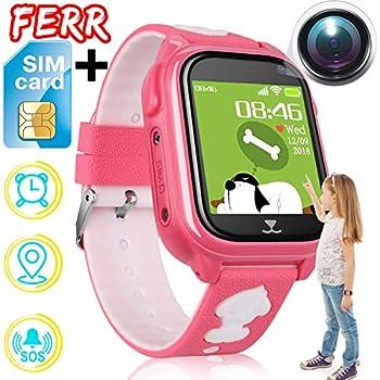 Children's Watches 2019 New Smart Watch Lbs Kid Smartwatches Baby Watch For Children Sos Call Location Finder Locator Tracker Anti Lost Monitor+box Good Taste