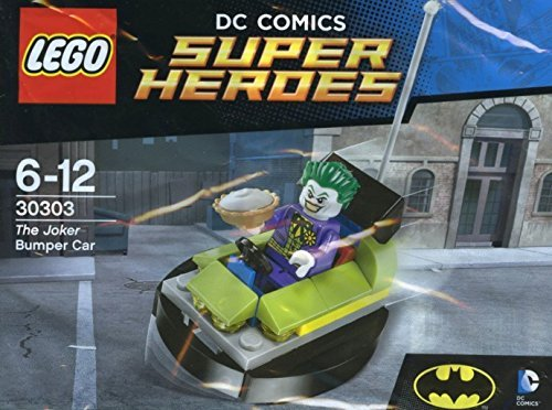 LEGO, DC Super Heroes, The Joker Bumper Car (30303) (Joker Superhero)