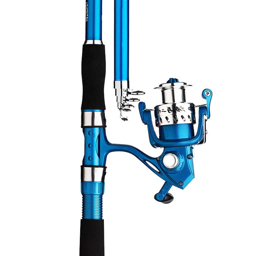 釣り竿 - 超軽量スーパーハード鯛アルミ合金ワイヤーカップ釣りセット釣りギア (サイズ さいず : 2.4m) 2.4m  B07Q5HDLK1