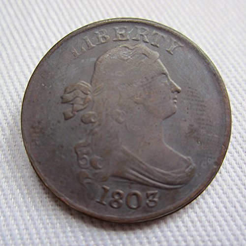 Half Cent (1803 USA Draped Bust Half Cents Coins COPY)