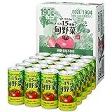 伊藤園 ぎっしり15種類の旬野菜 190g缶 1ケース(20缶入)長期保存可能品