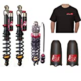 ELKA Suspension Stage 4 Shocks Front & Rear Kit Yamaha RAPTOR 660
