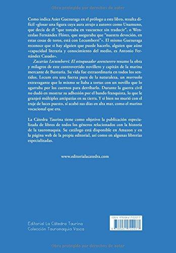 Amazon.com: Zacarías Lecumberri: El estoqueador aventurero ...
