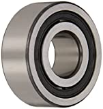 FAG NJ205E-TVP2 Cylindrical Roller Bearing, Single Row, Straight Bore, Removable Inner Ring, Flanged, High Capacity, Normal Clearance, Metric, 25mm ID, 52mm OD, 15mm Width