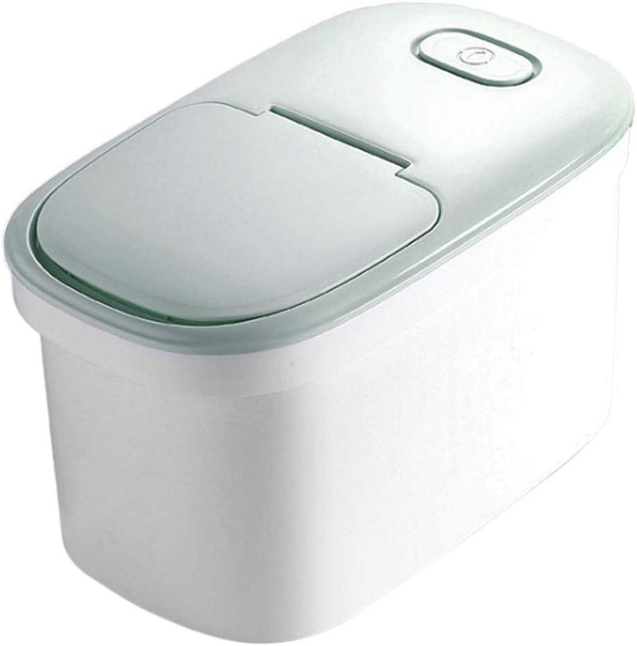 Gettesy 10L Tarro de Cajas Arroz Caja Seca Alimentos almacenar ...