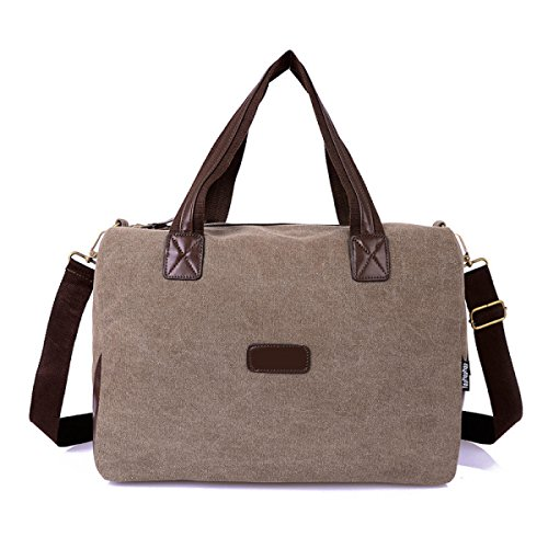 Frauen Jahrgang Leinwand Schulter Aktentasche Messenger Handtasche Arbeiten Die Universelle Einsatz Tasche ,B-OneSize