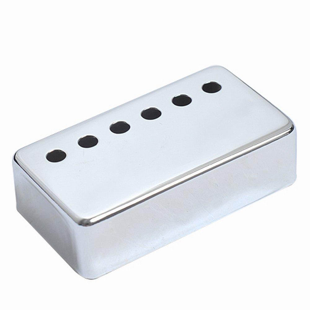 Kmise a7510 6 Piece Les Paulギターブリッジピックアップカバー52 mm Pole Spacing Fits、クロム   B00RT7QP74
