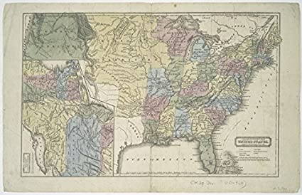 Amazon.com: Historic 1821 Map | Geographical & statistical map of ...