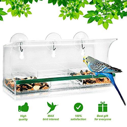 BirdieFancier Compartment Removable Suction Packaging product image