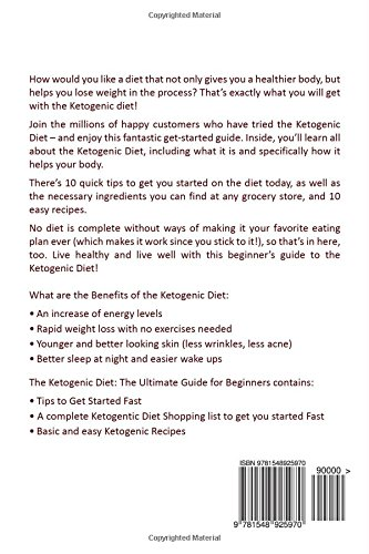 Amazon Com The Ketogenic Diet The Ultimate Guide For Beginners