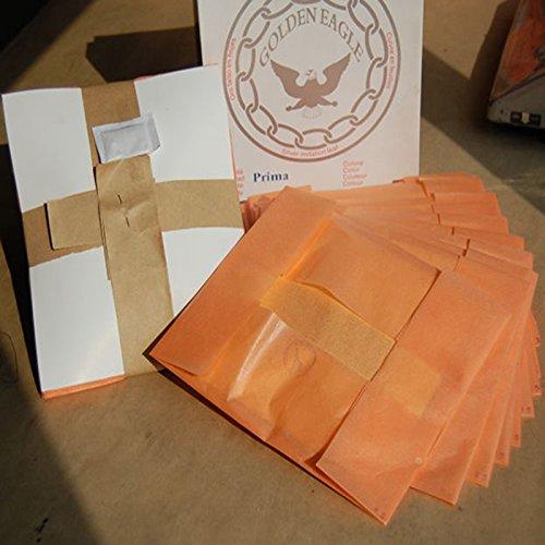 Loose Imitation gold leaf/ foil, color 2.5, 16x16cm 10,000pcs/box, without interpaper , Gold Leaf Factory outlet ,