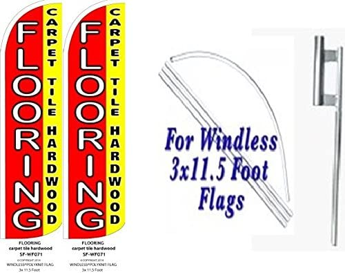 Pack of 8 Hardware not Included Flooring Sale Welcome King Windless Flag