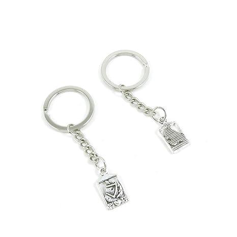 Amazon.com: Llavero Puerta Coche Cadena de clave Etiquetas ...