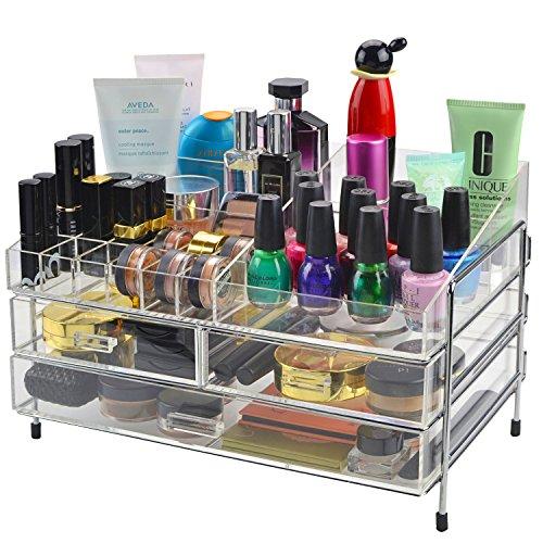 Acrylic Cosmetics Jewelry Storage Organizer