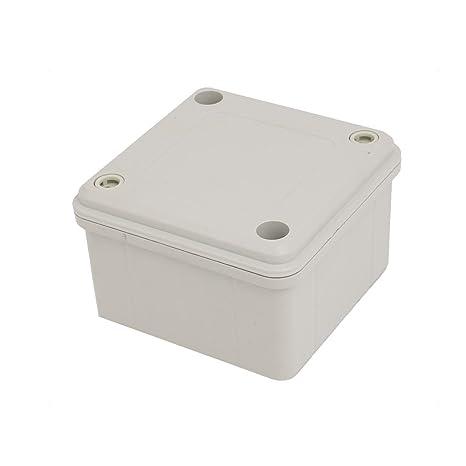 Aexit 60mmx96mmx96mm ABC Caja de conexiones a prueba de ...