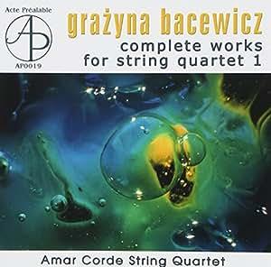 Bacewicz: String Quartets 1 by Malicki