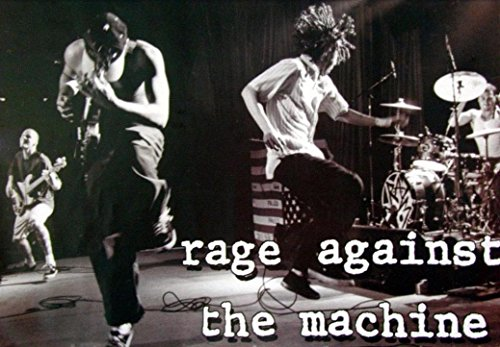 LPGI Rage Against The Machine Fabric Poster, 20 by 13-Inch, Stage ()