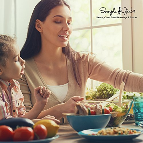 Simple Girl Organic Carolina Kick BBQ Sauce - 12oz - Low Calorie - Sugar-Free Diabetic/Vegan Friendly - Gluten/Fat/MSG Free - Vinegar Based - Compatible with Most Diet Plans