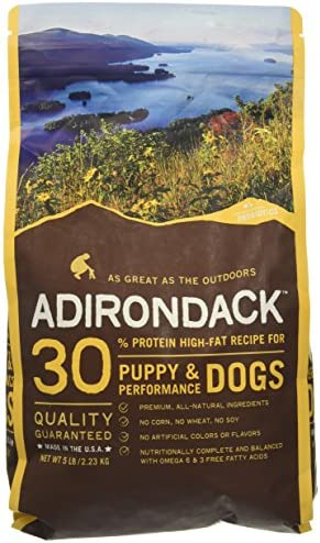 Blackwood Pet Food 075492023035 Adirondack High Fat Recipe Puppy Dog Food