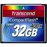 Transcend Compact Flash 32GB carta MLC 400X