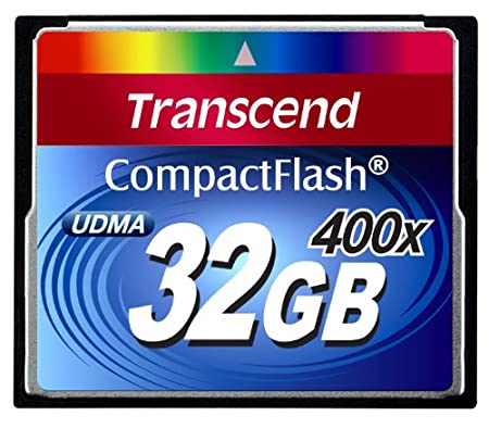 Transcend 400x CompactFlash Card, 32GB Memoria Flash - Tarjeta de ...