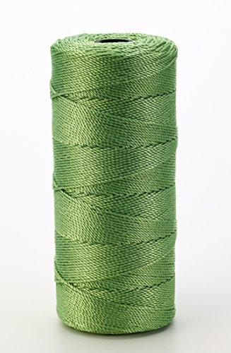 Mutual Industries 14661-39-1090 Nylon Mason Twine, 1 lb. Twisted, 18 x 1090', Green (Pack of 4)