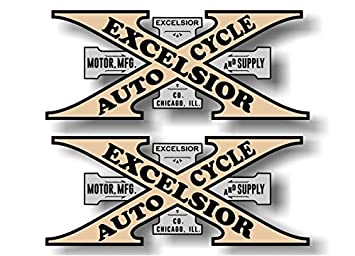 Vintage Motorcycle Decals