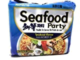 Samyang Seafood Ramen Seafood Party Nouille De Saveur De Fruits De Mer Seafood Noodle Soup. Sabor De Marisco 2018 Hot Hit Samyang Instant Noodle