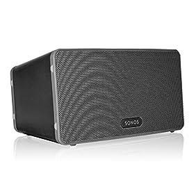 Sonos PLAY:3 Mid-Sized Wireless Smart Speaker for Streaming Music (Black)