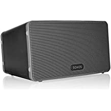 Sonos PLAY:3 Mid-Sized Wireless Smart Speaker for Streaming Music. Works with Alexa. (Black)