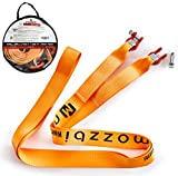 "Mozzbi Recovery Strap 3"" with D-ring shackle Heavy Duty 20000 lbs, 5M Long"