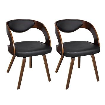 2er Anself Wohnzimmerstuhl Optional 2 Typ Küchenstuhl Esszimmerstuhl Stühle Set Designerstuhl JlK1Fc