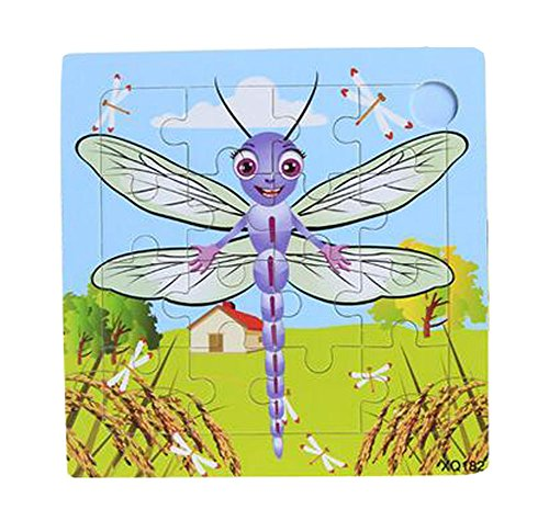 Alien Storehouse Wooden Puzzle Puzzles Dragonfly Children Puzzles Set Of 2