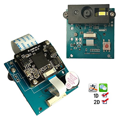 Embedded 1D/2D Codes Scanner Reader Module QR Bar Code Scanner Engine Module with RS232/USB/TTL Interface (TTL Port)