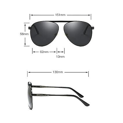 Eeayyygch Gafas de Sol Estilo Aviador para Mujer con Gafas polarizadas para Mujer - Gafas de