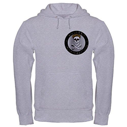 CafePress Emblem - Taliban Hunting Club Hooded Sweatshirt - L Heather Grey