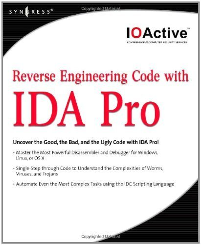 Download Reverse Engineering Code with IDA Pro Pdf