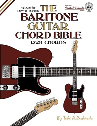 Amazon.com: The Baritone Guitar Chord Bible: Low B Tuning 1,728 ...
