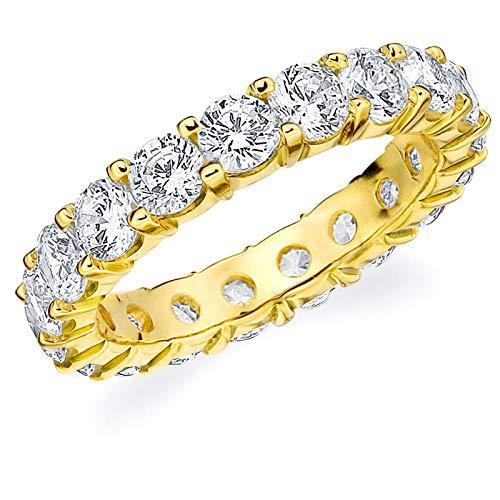 lab made diamond wedding band - 5