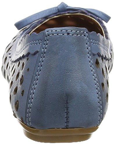 013 Donna bleu 0499206 Blu blau Conti Ballerine Andrea 1RqPaP