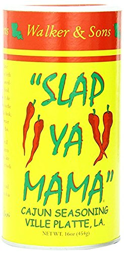 Walker & Sons Slap Ya Mama Cajun Seasoning, 16 Ounce