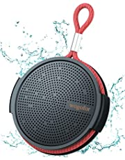 Wogofor Portable Bluetooth Speaker D70 haut parleur bluetooth, IPX5 Waterproof Shower Speaker 12H Playtime, with Stereo Sound and Bass, Speakers for Home, Outdoor, Travel