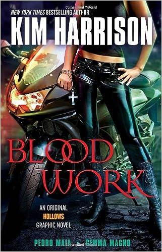 Blood Work An Original Hollows Graphic Novel Kim Harrison Pedro