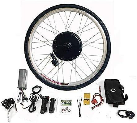 MOMOJA Kit de conversión para Bicicleta eléctrica Motor de Bicicleta eléctrica (36V 500W): Amazon.es: Deportes y aire libre